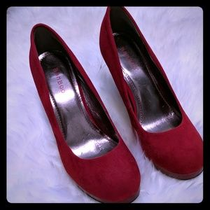 Bamboo Red High Heels  in size 9 US